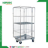 Demountable Nestable a Frame Plastic Based Full Security Roll Container