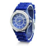 2016 Fashion Jelly Silicone Women Watch Quartz Silicone Geneva Watch