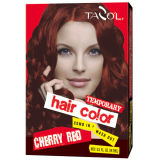 7g*2 House Use Temporary Hair Color with Cherry Red