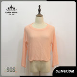 Ladies Orange Crop Casual Knitwear
