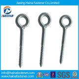 Zinc Plated/Galvanized Half Thread Ring Screws Eye Hook Screws Lag Eye Screws for Wood