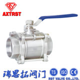 3PC ISO9001/Ce Stainless Steel Ball Valve