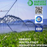 Diesel Engine Water Saving Four Wheel Lateral Irrigation System with End Spray Sprinkler