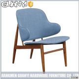 Classic Wood Design Fabric Hotel Chair