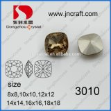 New Square Cutting Lead Free Crystal Glass Beads for Jewelry