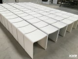 No Porous Solid Surface Bench Bathroom Stool