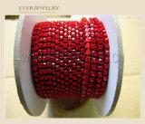 Siam Crystal Rhinestone Chain Trimming for Wedding Dress Fancy Ss6.5 8.5 10 12