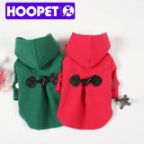 British Style Vintage London Dog Coat Female Dog Clothes