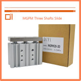 Mgpm 50type Three Shafts Slide Cylinder Pneumatic Cylinder