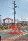 220kv Single Circuit Tension Pole and 10kv Distribution Monopole