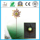 Sun Flower Shape Iron Art and Crafts for Garden Decoration