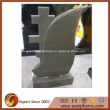 China Natural Grey Granite Tombstone