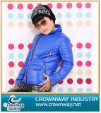 Boy′s Zip Through Hoody Down Jacket