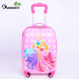 New Arrival Kids Luggage Cute Pattern Trolley Bag with High Quality (601#)
