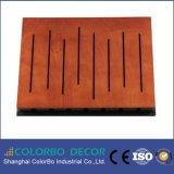 Groove Wooden Sound Proof Acoustic Panels Auditorium Decoration