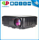 Newest Best 1080P 3D WiFi Projector with 3500 Lumens Connecting Bluetooth and Phone