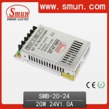 20W 24V/12V/5V Slim Switching Power Supply (SMPS) with CE RoHS Approved