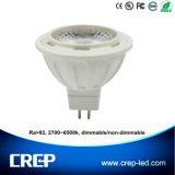 6W Dimmable Ra>82 MR16 LED Spotlight for AC/DC12V