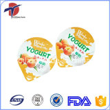 Embossed Yogurt Aluminium Foil Lids