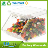 Wholesale Plastic Acrylic Stackable Candy Dispenser with Magnetic Hinged Door