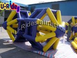 0.9mm PVC Tarpaulin Inflatable Wate Roller for Water Park