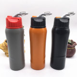 750ml Stainless Steel Wide Mouth Sport Water Bottle with Carabiner (SH-ST12)