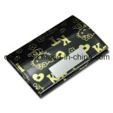 Lady′s Gift Hello Kitty Leather Name Card Case (QL-MPH-0012)