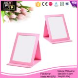 latest Products 2016 PU Leather Cover Make up Mirror