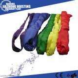 CE GS Approved 6 Ton Polyester Flat Woven Webbing Slings