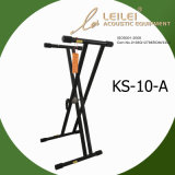 Heavy-Duty Double X Keyboard Stand Ks-10-a