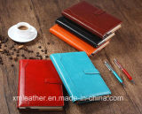 Hardcover Notebook Leather Exercise Book with Multicolor