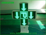 Double Side LED Pharmacy Cross Sign Outdoor