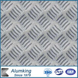 Pre-Cutted Chequer Aluminium Plate for Door