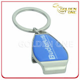 Custom Design Printed Metal Bottle Opener Keyring