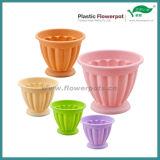 Plastic Garden Flower Pot for Decoration (KD2910N-KD2917N)