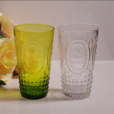 Colored Pillar Double Glass Candle Holders