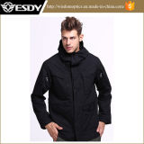 Esdy Men′s Windbreaker Jacket Outdoor Tactical Warm Coat Combat Windbreaker