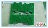 Routing Double Sided Hal PCB with Green Solder Mask