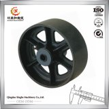 Ductile Iron Castings Wheel Ductile Iron Foundry with Painting Finish