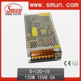 Small Volume Single Output Switching Power Supply 120W 12V 15V 24V 48V AC/DC Power Supply