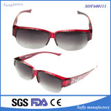 Fashion Outdoor Designer Polarized PC Fit Over Red Sport Glasses