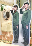 New Fashion Cardboard Advertising Poeple Display Standee for Wedding