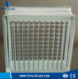 Clear Decoration Parallel Patterned Glass Block