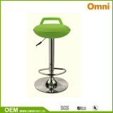 Colored Bar Chair Leisure Chair with Plating Feet (OM-766)