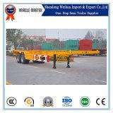2 Axle 40FT Skeleton Container Semi Trailer Chassis