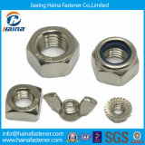 Stainless Steel Hex Nut, Square Nut, Wing Nut, Nylon Locknut