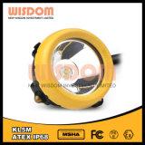 Wisdom Kl5m Miner′s Corded Headlamp, 16000lux LED Cap Lamp