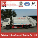 8 Ton Garbage Compactor Truck Dongfeng Compactor Garbage Truck Automatic Garbage Compression