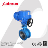 Explosion Proof Electric Three Eccentric Flange Butterfly Valve with Module