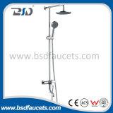 Luxury Bathroom Wall Mounted Rain Shower Faucet Set Bathtub Mixer